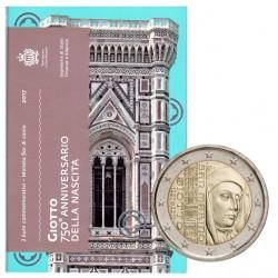 Coffret BU 2€ commémorative Saint Marin Giotto 2017