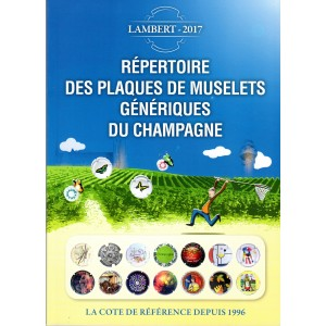 Répertoire des Plaques de Muselets Génériques du Champagne. LAMBERT