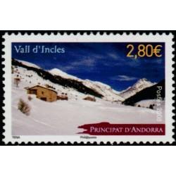 Timbre Andorre Français n°657