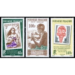 Timbre Polynésie n°858 à 860