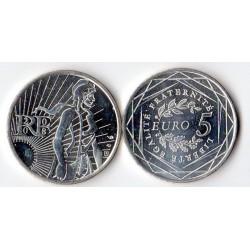 5 Euros Argent Semeuse France 2008
