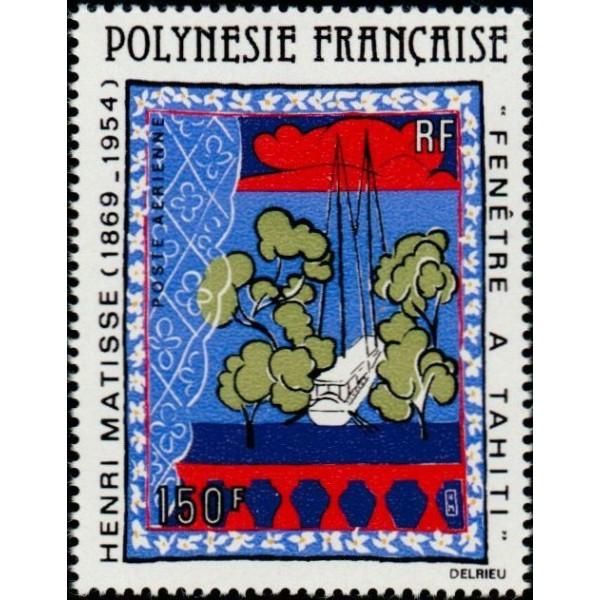 Polyn sie poste a rienne n 153 chez philarama37 for Matisse fenetre a tahiti