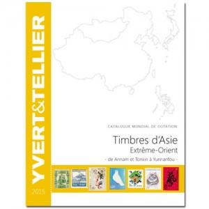 Catalogue Yvert et Tellier des Timbres d'Asie Extrême-Orient 2015