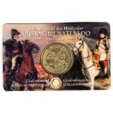2,50 Euros commémorative Belgique Bataille de Waterloo Coin Card 2015