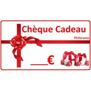 Bon cadeau / Chèque cadeau / Carte cadeau Philarama à offrir