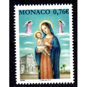 Timbre Monaco n°3005 Noel