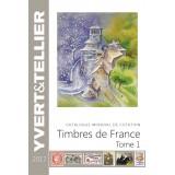 Nouveauté Catalogue Yvert et Tellier des Timbres de France 2017 Tome 1