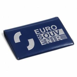 """Album de poche pour 40 billets """"Euro Souvenir"""" Leuchtturm"""