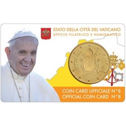 Vatican Coin Card n°8 2017...