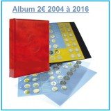 Promo Albums 2 euros commémoratives 2004/2016 - Yvert et Tellier