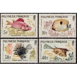 Timbre Polynésie n°18 à 21...