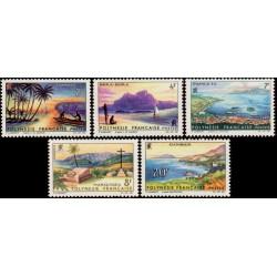 Timbre Polynésie n°30 à 34...