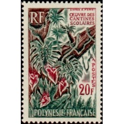 Timbre Polynésie n°35...