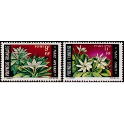 Timbre Polynésie n°64 et 65...