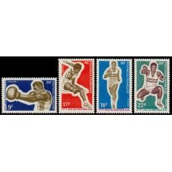 Timbre Polynésie n°66 à 69...