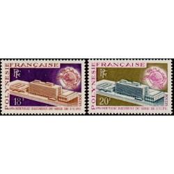 Timbre Polynésie n°80 et 81...