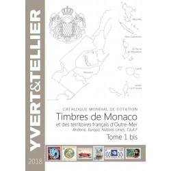Catalogue Yvert et Tellier des Timbres de Monaco et Tom 2018 Tome 1 bis Neuf