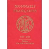 Nouveauté Catalogue Monnaies Françaises Gadoury 1789-2017
