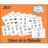 """Les Trésors de la Philatélie 2017 avec le feuillet-cadeau """"Guynemer"""""""