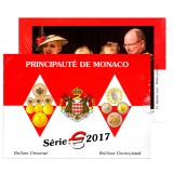 Coffret BU Officiel Monaco 2017