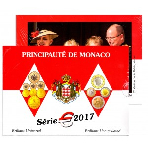 Coffret BU Officiel Monaco 2017