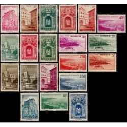 Timbre Monaco n°169 à 183...