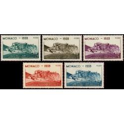 Timbre Monaco n°195 à 199...