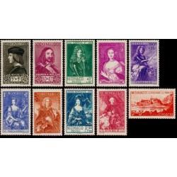 Timbre Monaco n°185 à 194...