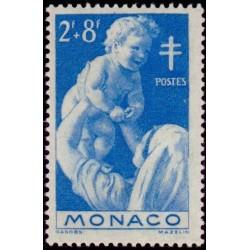 Timbre Monaco n°293 Au...