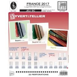 Nouveauté Jeu Yvert et Tellier France SC 2ème semestre 2017