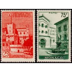Timbre Monaco n°397 et 398...