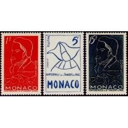 Timbre Monaco n°399 à 401...