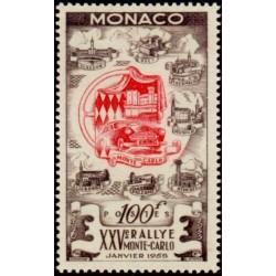 Timbre Monaco n°420 25ème...