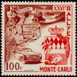 Timbre Monaco n°441 26ème...