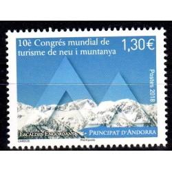 Timbre Andorre Français...