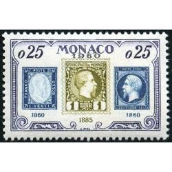 Timbre Monaco n°525 75ème...