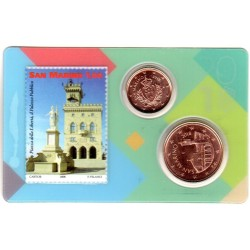 Stamp and Coin Card Saint...