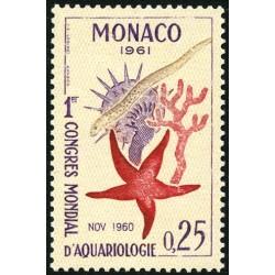 Timbre Monaco n°551 Congrès...