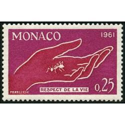 Timbre Monaco n°554...
