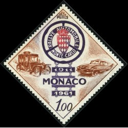 Timbre Monaco n°555...