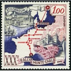 Timbre Monaco n°556 30ème...