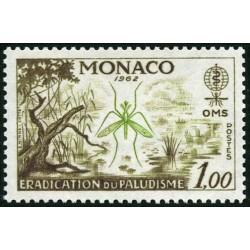 Timbre Monaco n°579...