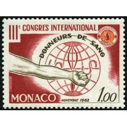 Timbre Monaco n°598 3ème...