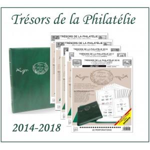 Nouveauté Pack Trésors de la Philatélie 2014-2018 + Album Supra