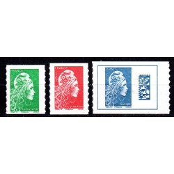 Timbres France 3 timbres...