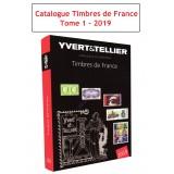 Catalogue Yvert et Tellier des Timbres de France 2019 Tome 1