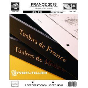 Nouveauté Jeu Yvert et Tellier France FS 1er semestre 2018
