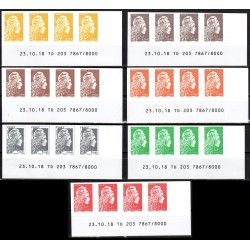 Timbres France Marianne...