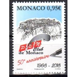 Timbre Monaco n°3156 50ème...