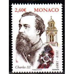 Timbre Monaco n°3155...